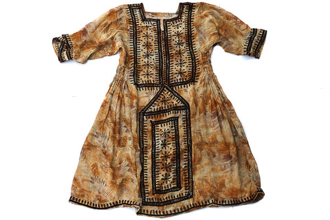 Enchanted Brown Gaia Dress