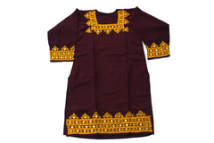 HAND EMBROIDERED BALOCHI/AFGHANI BOHO DRESS - SANNYASIN LOVE - Blonde Vagabond