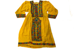 HAND EMBROIDERED BALOCHI/AFGHANI BOHO DRESS - RETRO BABE - Blonde Vagabond