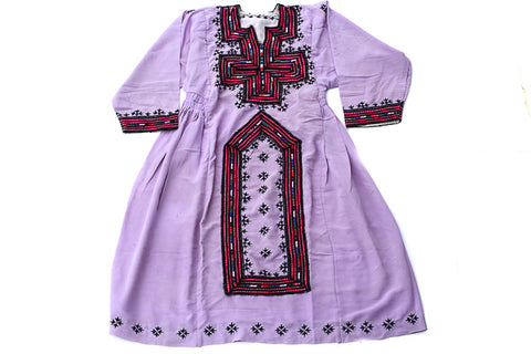 HAND EMBROIDERED BALOCHI/AFGHANI BOHO DRESS - RETRO LOVE