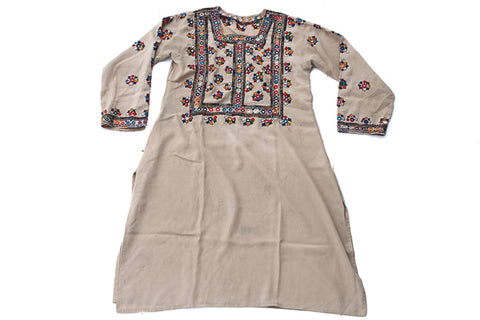 HAND EMBROIDERED BALOCHI/AFGHANI BOHO DRESS - RETRO BABE