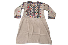 HAND EMBROIDERED BALOCHI/AFGHANI BOHO DRESS - WATER BEARER - Blonde Vagabond
