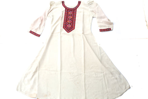 HAND EMBROIDERED BALOCHI/AFGHANI TRIBAL DRESS - CARNIVAL RIDE