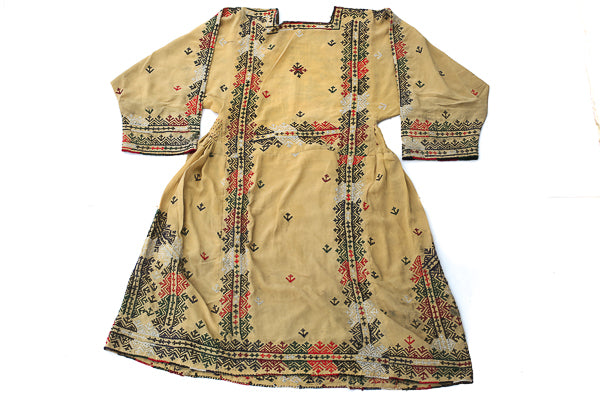 HAND EMBROIDERED BALOCHI/AFGHANI BOHO DRESS - CAROUSEL QUEEN - Blonde Vagabond