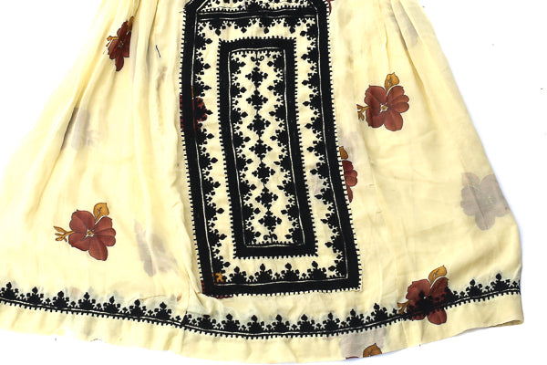 HAND EMBROIDERED BALOCHI/AFGHANI BOHO DRESS - MAIDEN CIRCUIT - Blonde Vagabond