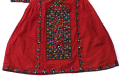 HAND EMBROIDERED BALOCHI/AFGHANI BOHO DRESS - COSMIC JOURNEY - Blonde Vagabond