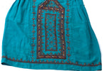 HAND EMBROIDERED BALOCHI/AFGHANI BOHO DRESS - SILVER LINING - Blonde Vagabond