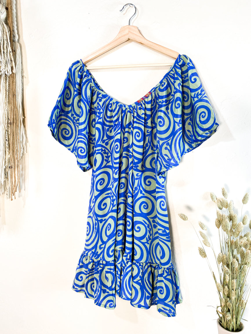 Lalita Dress - Greek Isles