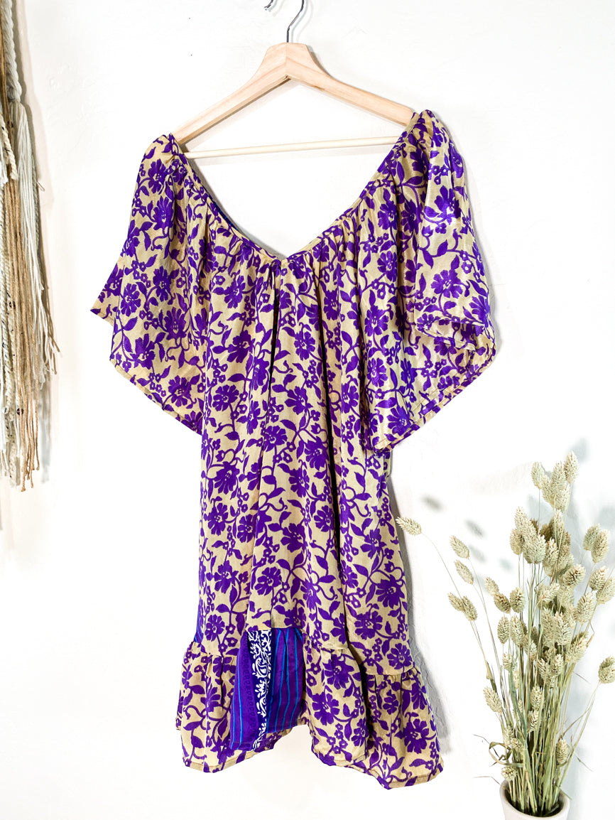 Lalita Dress - Purple Majestic