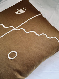 THE DREAMTIME CUSHION - Black Salt Co Coastal Luxe Homewares and Decor