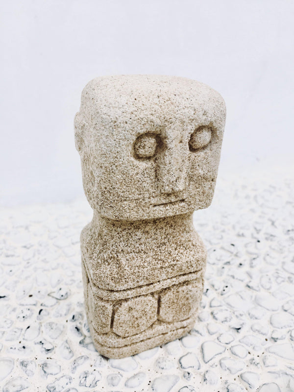 THE BARBADOS STONE STATUE - Black Salt Co Coastal Luxe Homewares and Decor