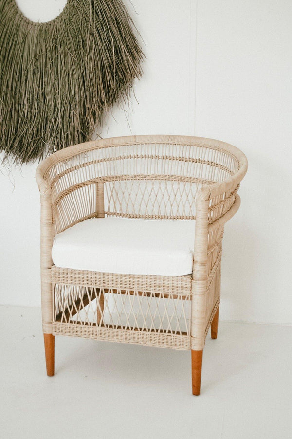 THE MELAWI CHAIR - Black Salt Co Coastal Luxe Homewares and Decor