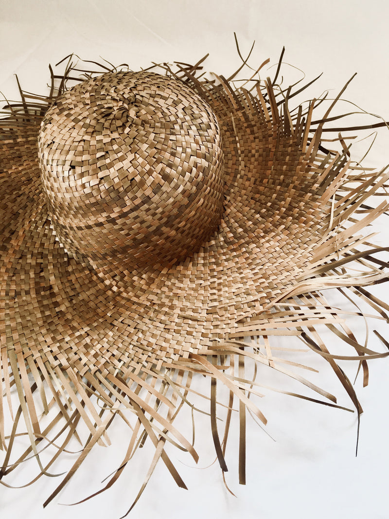 THE MALLORCA HAT - Black Salt Co Coastal Luxe Homewares and Decor