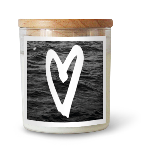 THE HEART CANDLE - Black Salt Co