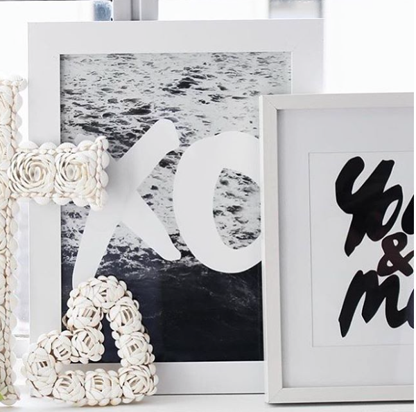 THE 'XO WAVES' PRINT - Black Salt Co Coastal Luxe Homewares and Decor