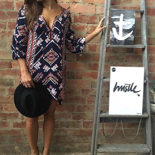 THE 'HUSTLE' PRINT - Black Salt Co Coastal Luxe Homewares and Decor