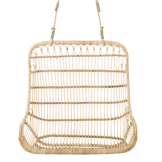 THE LENNOX DOUBLE HANGING CHAIR - Black Salt Co Coastal Luxe Homewares and Decor