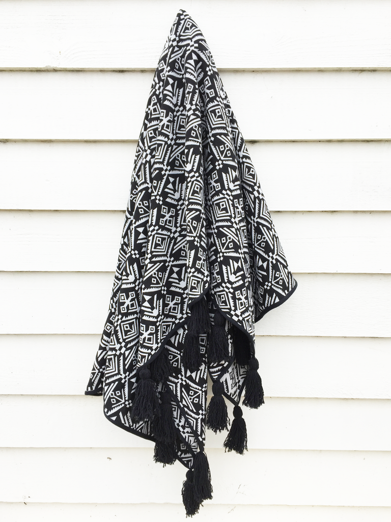 BLACK SALT CO THE CUBA THROW