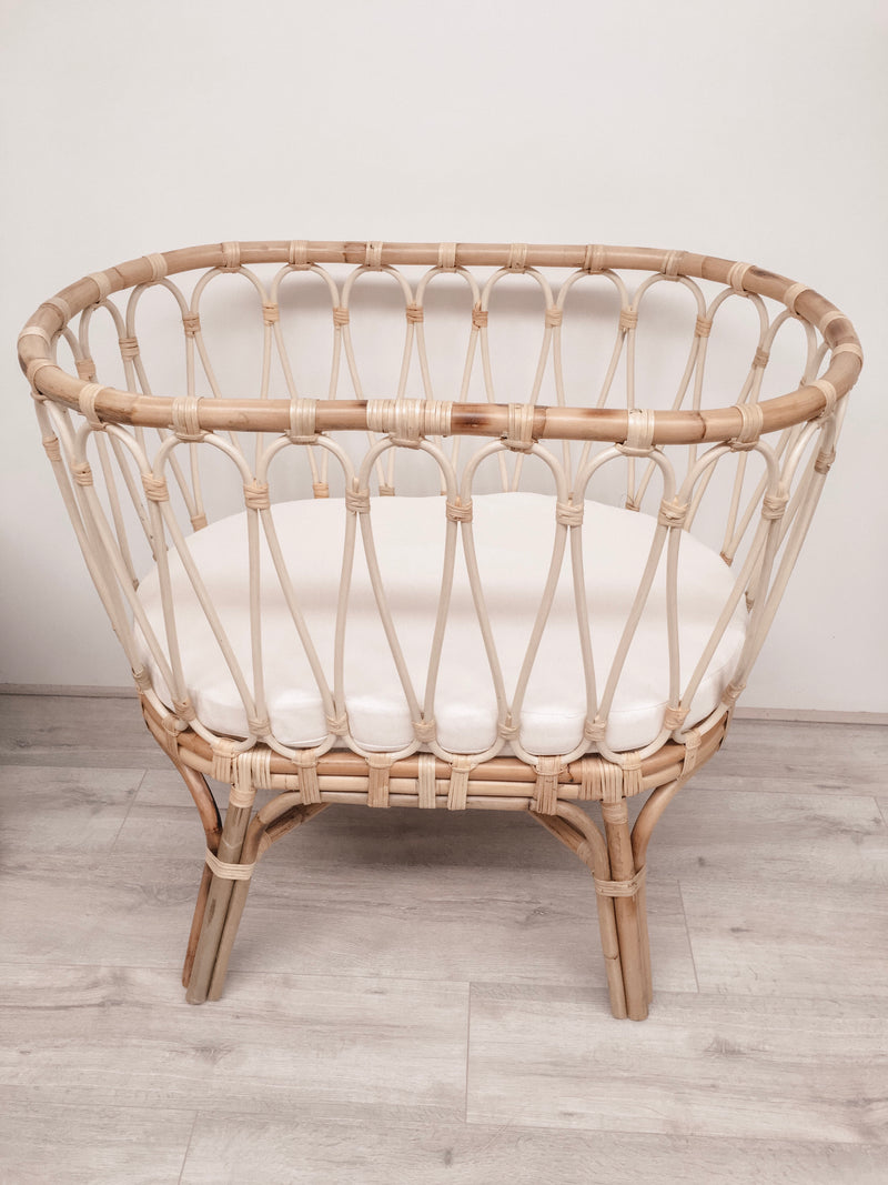 THE MARSEILLE BASSINET - Black Salt Co Coastal Luxe Homewares and Decor