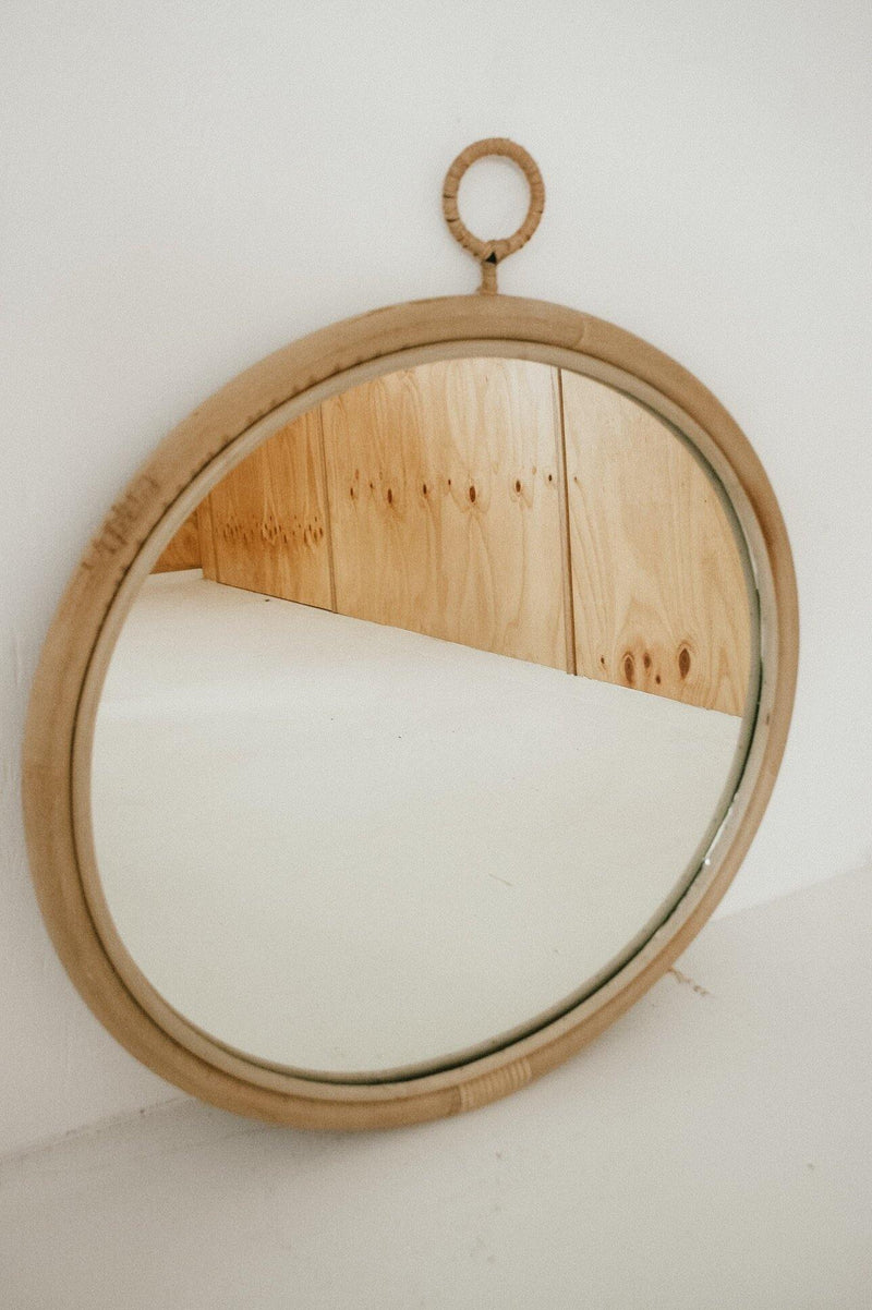 THE FULL MOON MIRROR - Black Salt Co Coastal Luxe Homewares and Decor