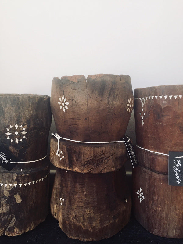 THE PANAMA STOOLS - Black Salt Co Coastal Luxe Homewares and Decor