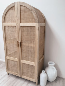 THE SEVILLE ARCH CABINET - Black Salt Co Coastal Luxe Homewares and Decor