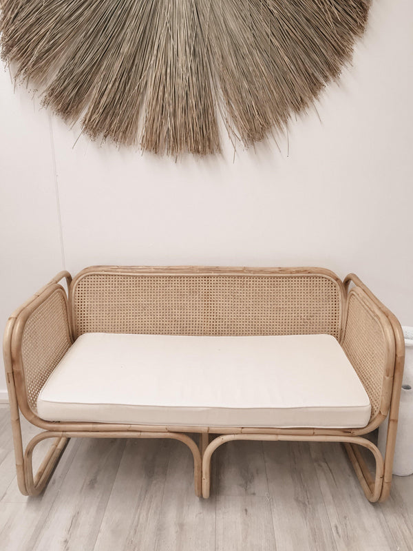 THE 2-SEATER LUNA CHAIR - Black Salt Co Coastal Luxe Homewares and Decor