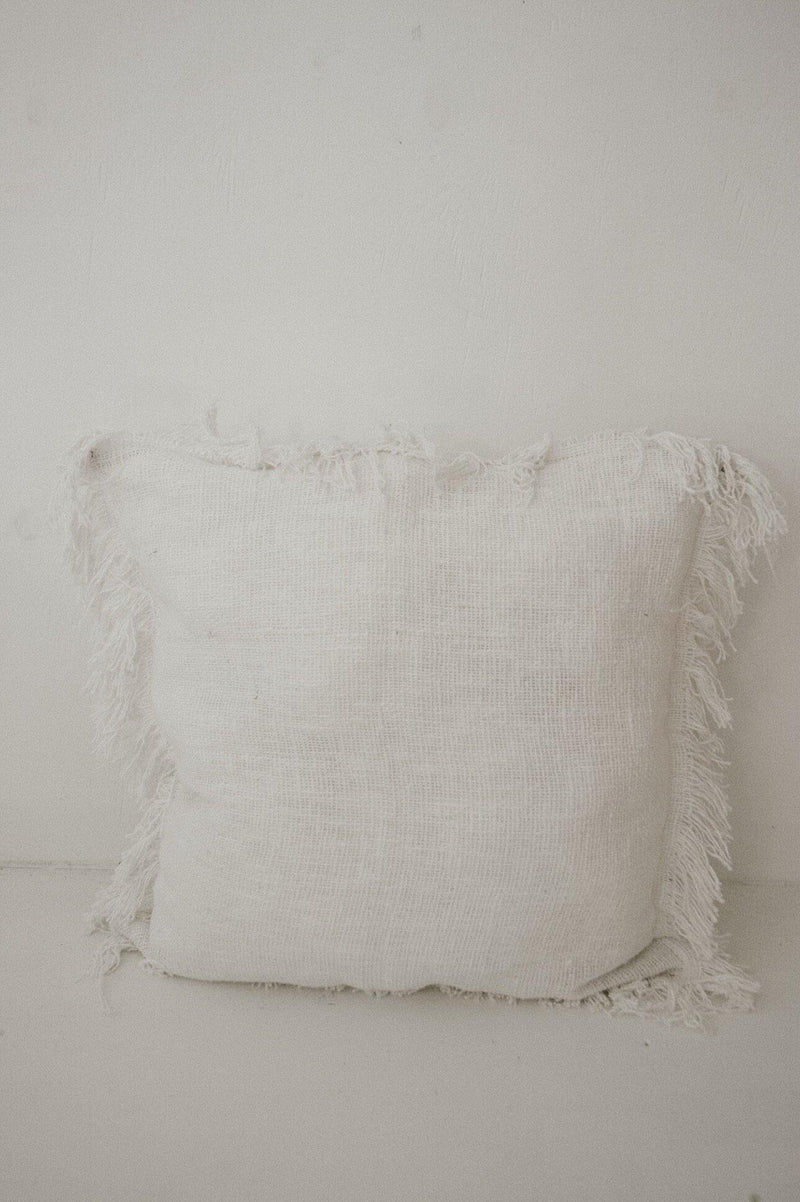 THE CANARY ISLAND CUSHION - Black Salt Co Coastal Luxe Homewares and Decor