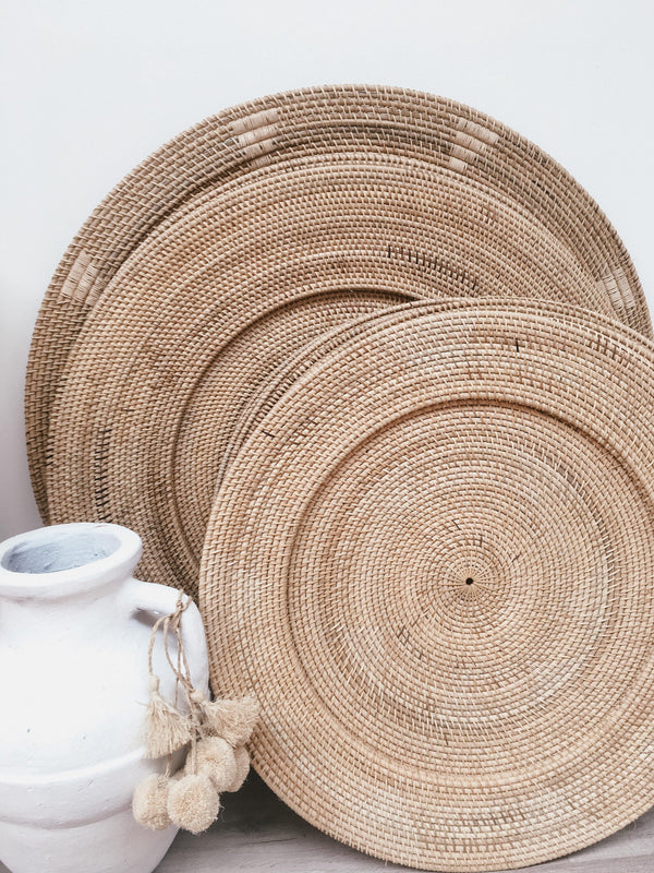THE HAITI PLATE - Black Salt Co Coastal Luxe Homewares and Decor