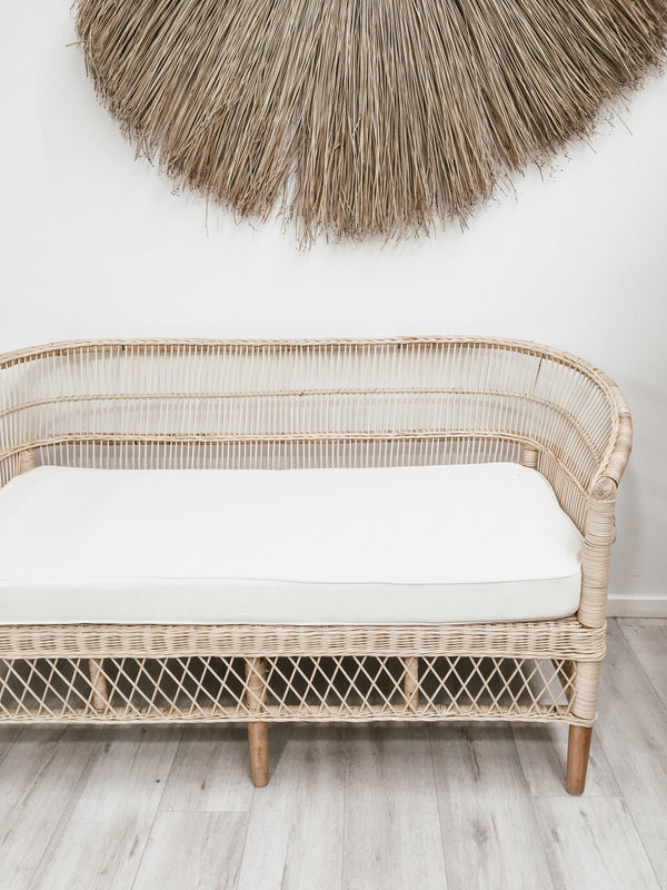 THE 2-SEATER MELAWI CHAIR - Black Salt Co Coastal Luxe Homewares and Decor