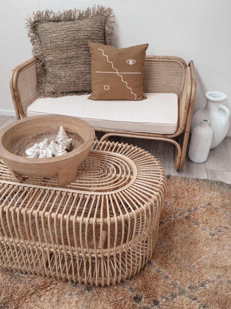 THE DUNE COFFEE TABLE - Black Salt Co Coastal Luxe Homewares and Decor