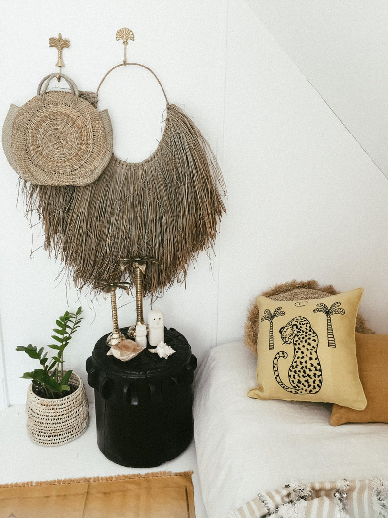 THE FANTAIL WALL HANGER - Black Salt Co Coastal Luxe Homewares and Decor