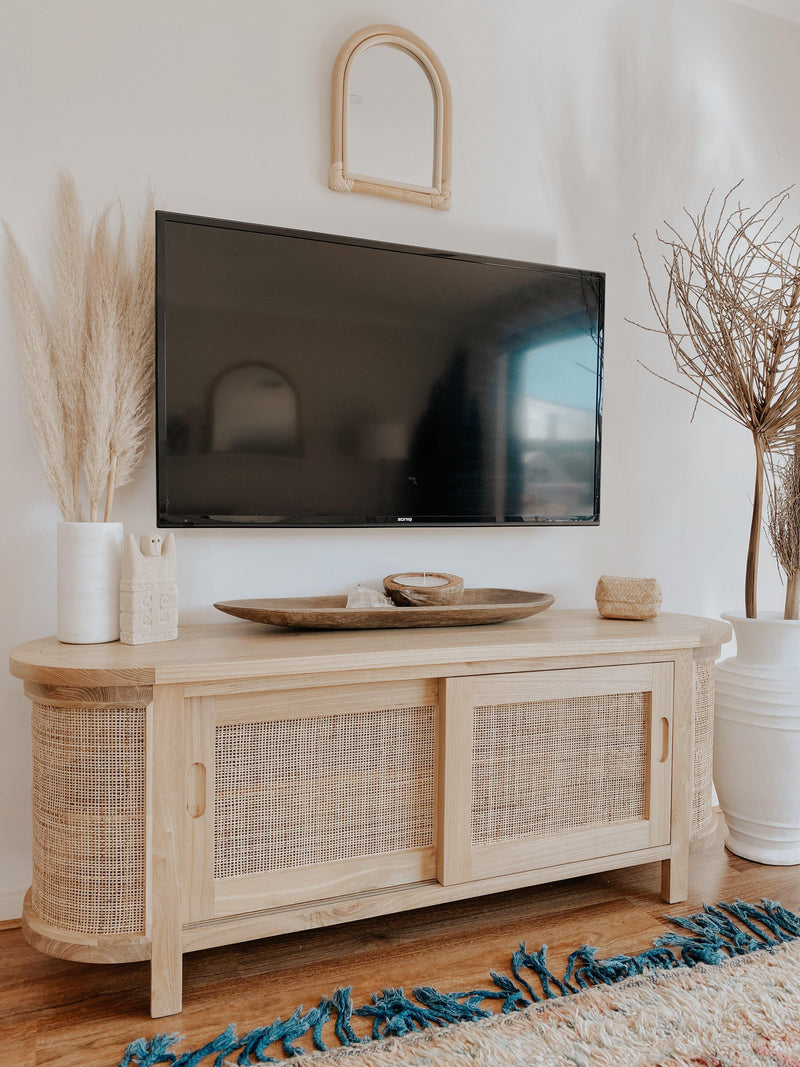 THE ROUNDED SEVILLE TV CABINET