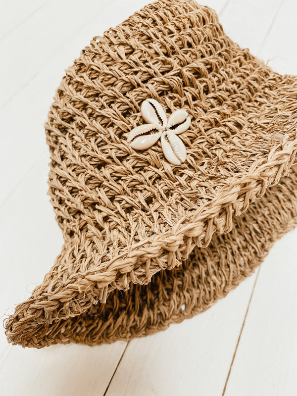 THE SEYCHELLES KIDS HAT - Black Salt Co