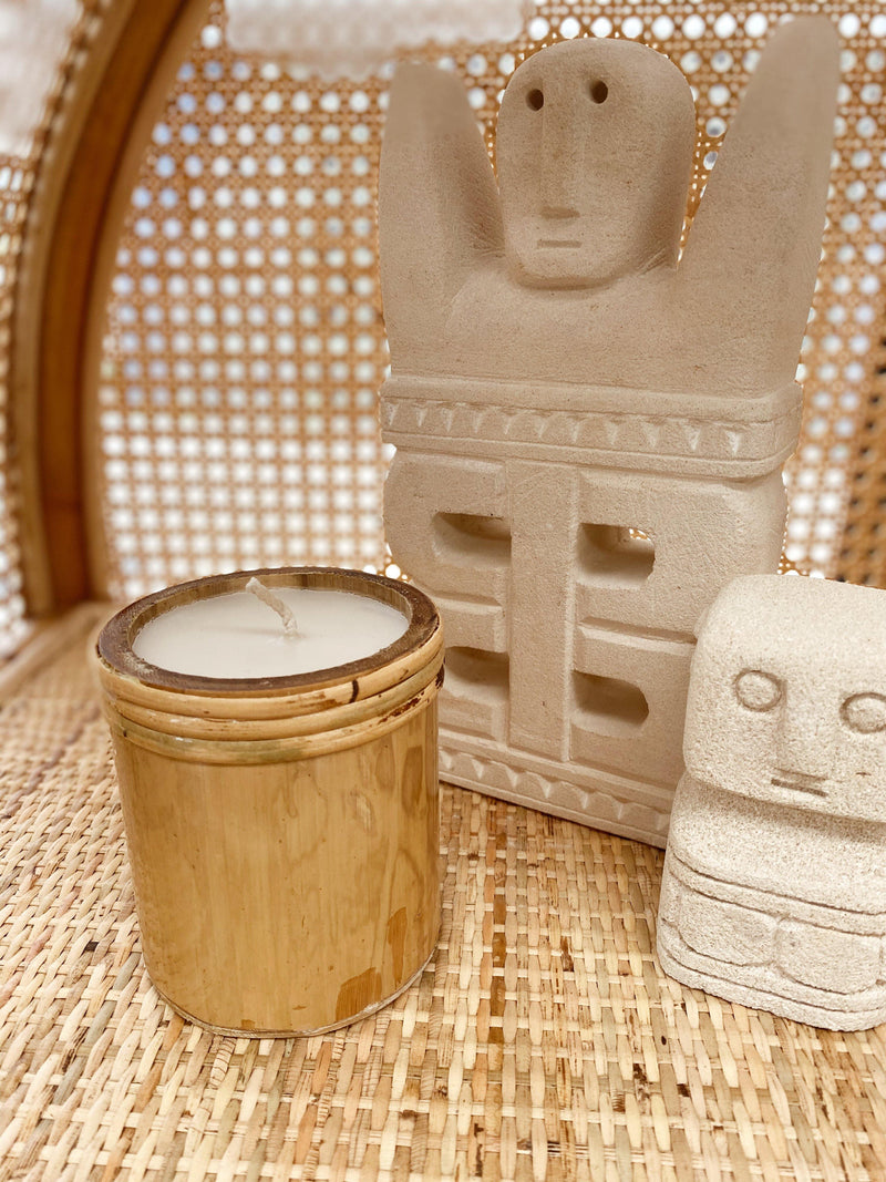 THE BAMBOO CANDLE