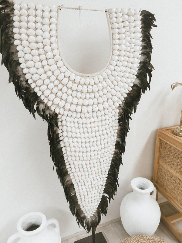THE HONOLULU SHELL NECKLACE - Black Salt Co Coastal Luxe Homewares and Decor