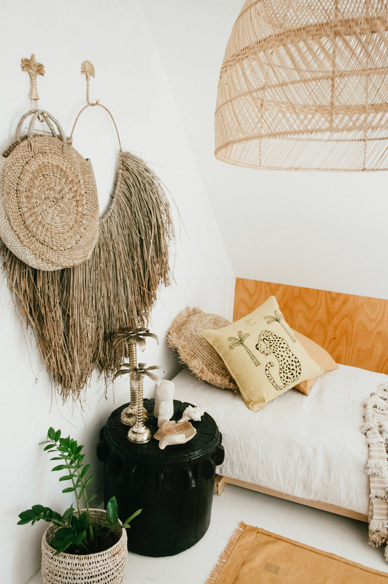 THE PALM WALL HANGER - Black Salt Co Coastal Luxe Homewares and Decor
