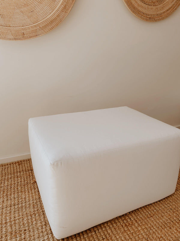 THE TULUM OTTOMAN - Black Salt Co
