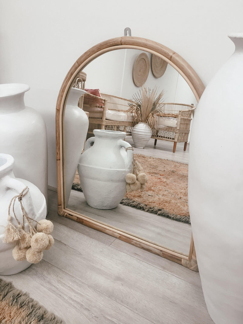 THE ARCH MIRROR - Black Salt Co Coastal Luxe Homewares and Decor