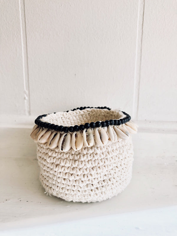 THE SALENTO BASKET - Black Salt Co Coastal Luxe Homewares and Decor