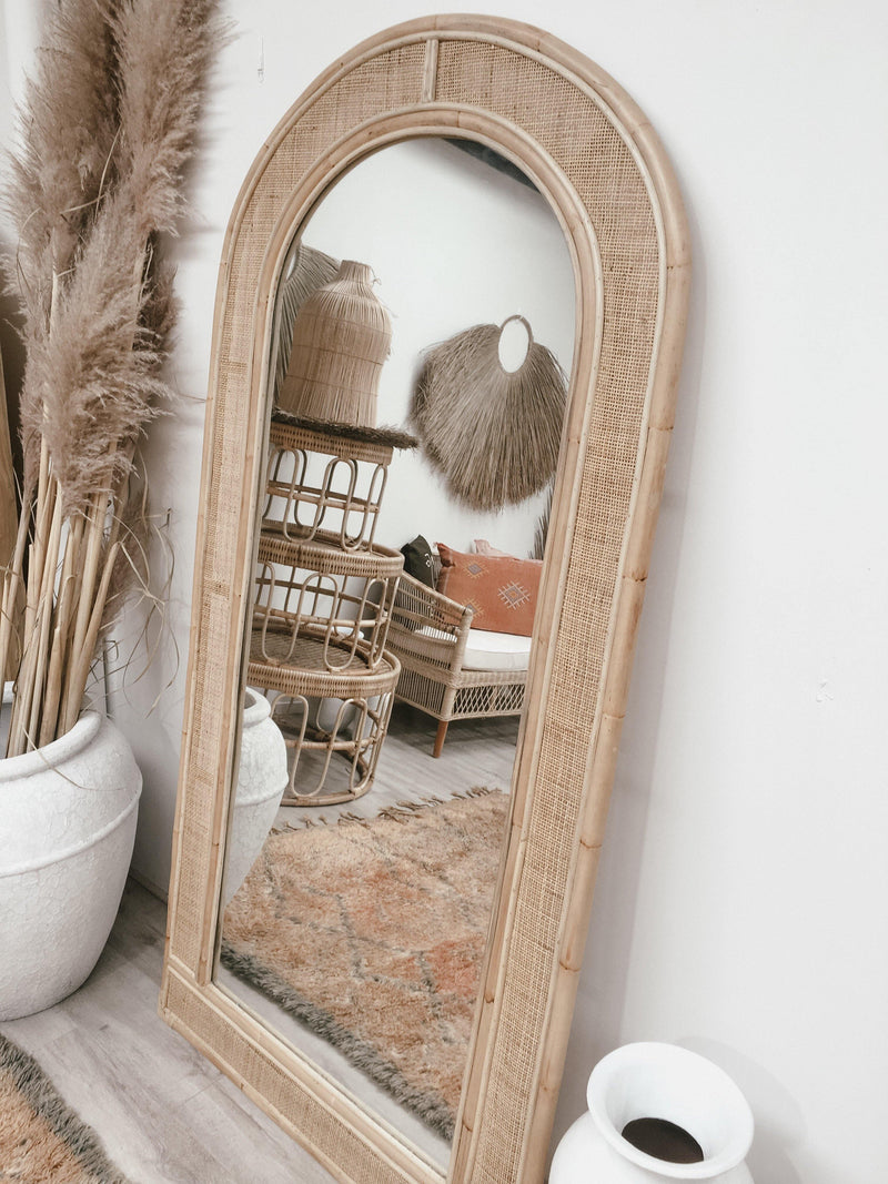 THE SEVILLE ARCH MIRROR - Black Salt Co Coastal Luxe Homewares and Decor