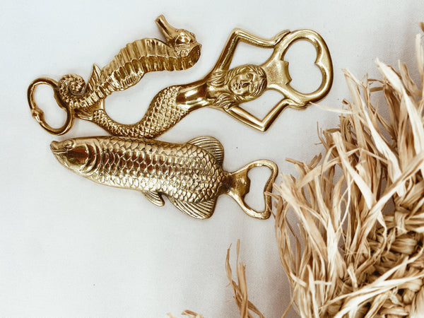 THE MERMAID BOTTLE OPENER - Black Salt Co