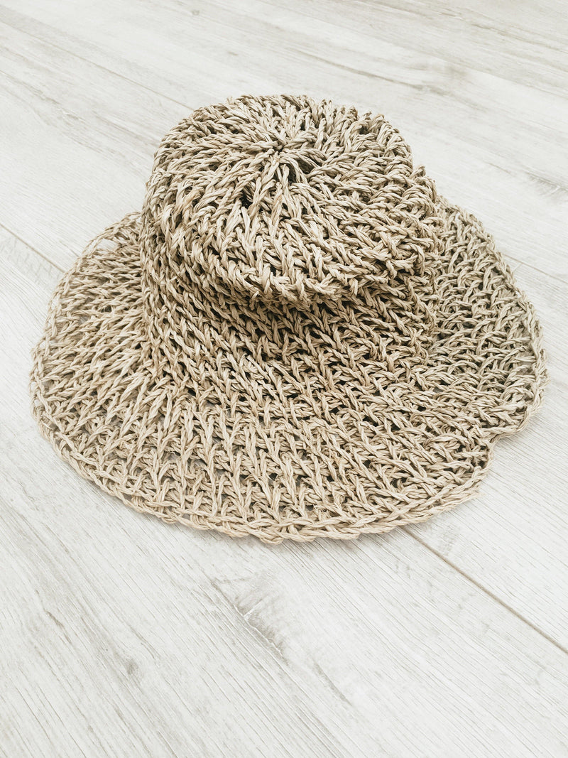 THE SEYCHELLES KIDS HAT - Black Salt Co Coastal Luxe Homewares and Decor