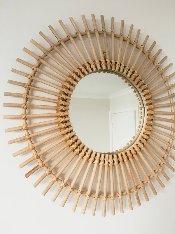 THE SUN MIRROR - Black Salt Co Coastal Luxe Homewares and Decor