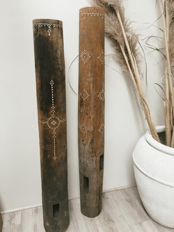 THE BORNEO PILLAR - Black Salt Co Coastal Luxe Homewares and Decor