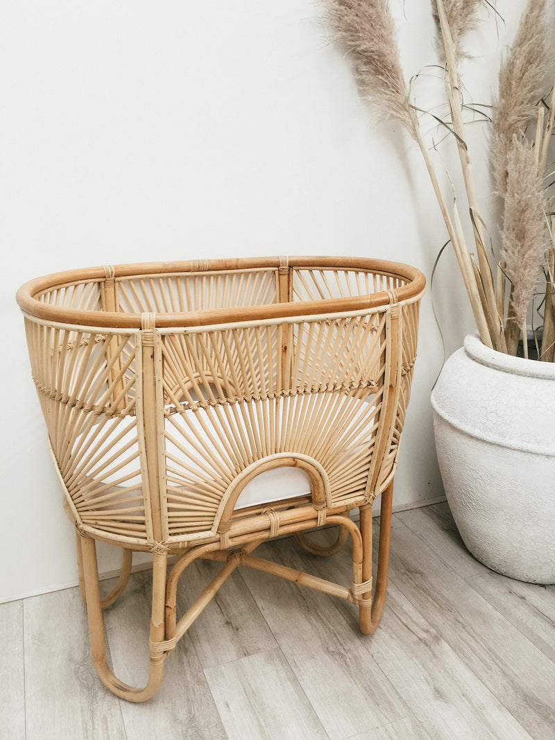 THE RAINBOW BASSINET - Black Salt Co Coastal Luxe Homewares and Decor
