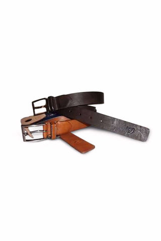 Bogart man casual embossed leather belt