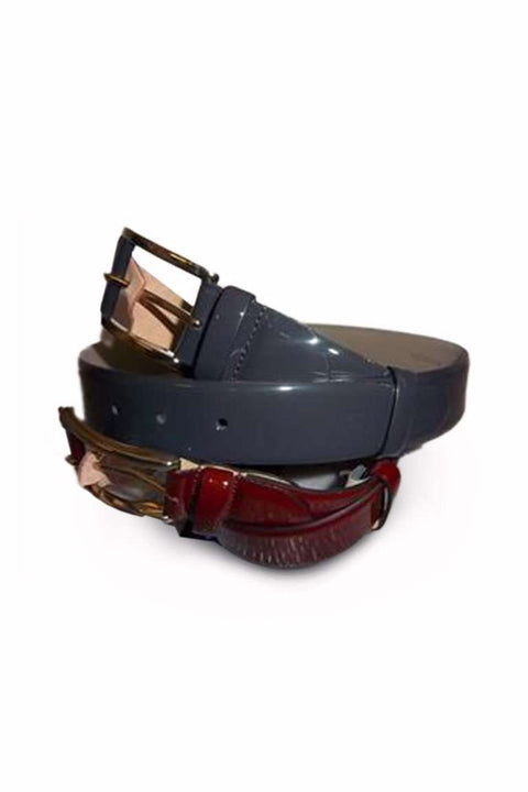 Bogart Man Classic Patent Leather Belt SKU: BBELT14