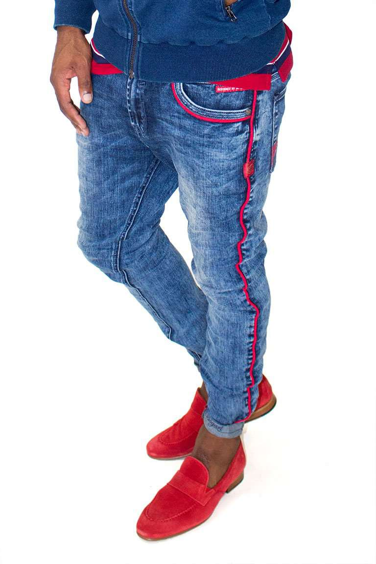 Red Lining Denim-front