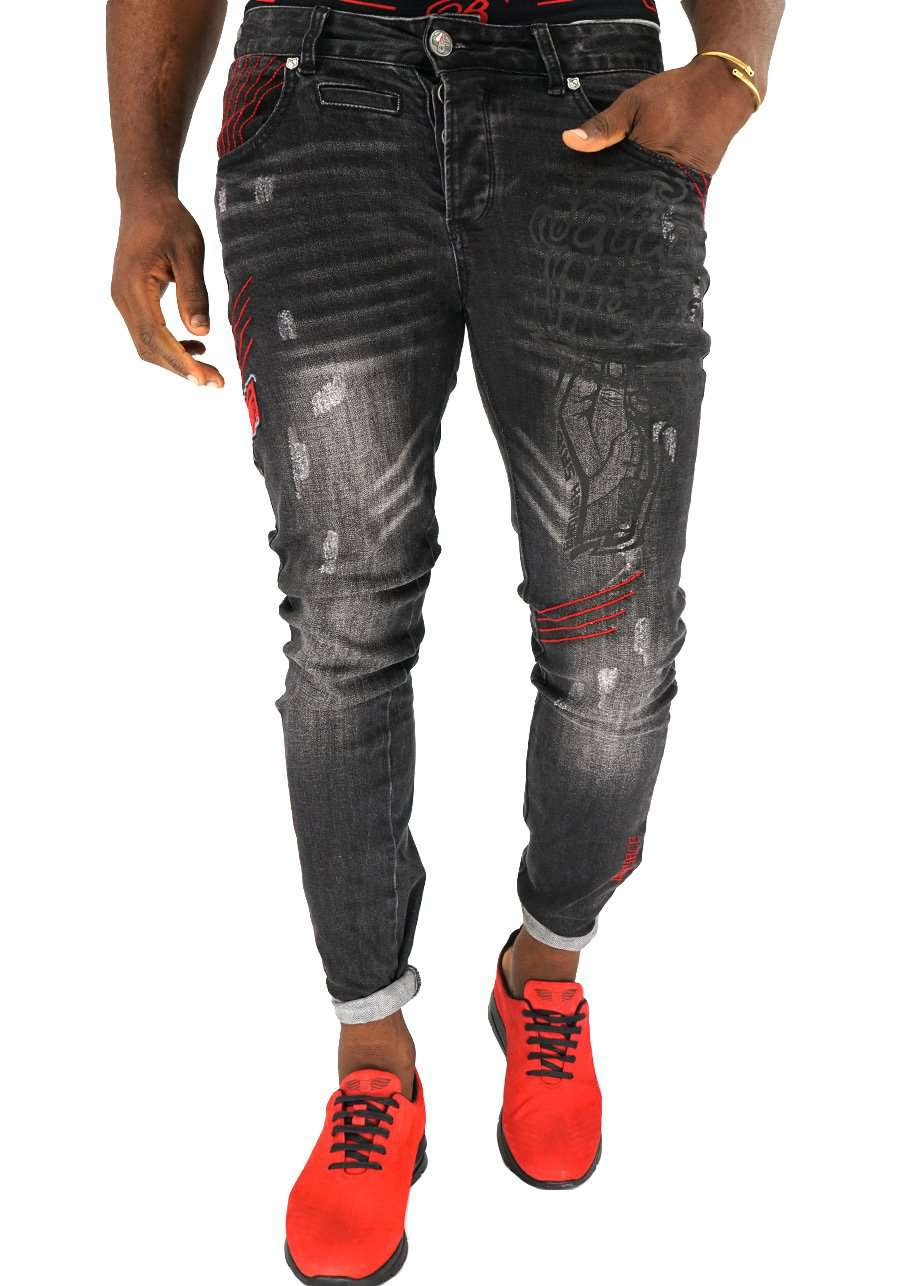 Red Stitch Italian Denim